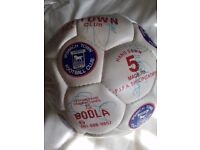 Signed Ipswich Town football