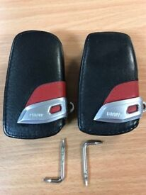 2 genuine leather BMW fob covers £20 for both.