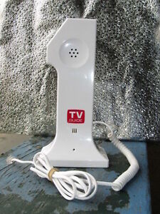 vintage tv guide novelty phone