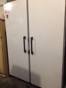Vulcan/Hobart Upright Double Door Commercial Freezer