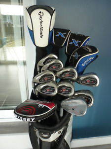 Superbe ensemble golf Callaway X, big bertha et taylormade