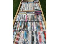 over 100 Dvds (approx 120-130)