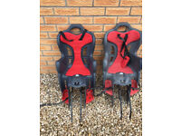 Bike child seats (pair)