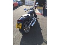Harley Davidson V Rod Muscle 2015, 1250cc, in mint condition, £11,900 ONO