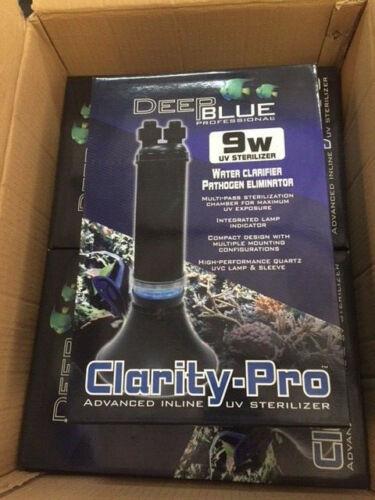 Deep Blue Professional Clarity Pro Inline Uv Sterilizer 9 watt (NEW)