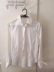 Shirt Studio Size 10 Women's Shirt - White Weston Weston Creek Preview