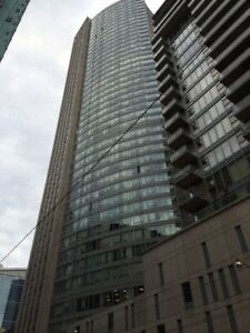 """Downtown Luxury Unfurnished Bachelor for rent. """"Dundas Square"""""""