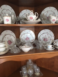 Tudor Rose Royal Stafford Bone China set