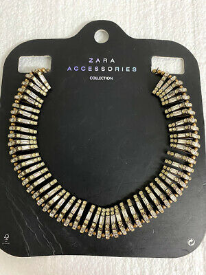 Zara Accessories Collection Necklace Gold NEW