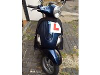 Midnight blue Vespa well cared for 2008 21k KMs. Very Reliable. LX125 Learner legal