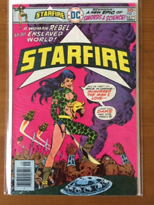 STARFIRE #1 comic book - 1976 - higher grade - $20.