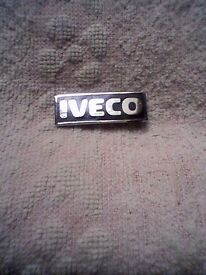 """IVECO"" METAL LAPEL BADGE - UNUSED"