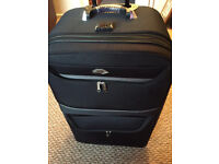 Large Trolly Suitcase 'Satellite' in Unmarked Condition, Used Once