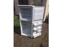 Beko FGA943 fridge freezer, vgc, £50