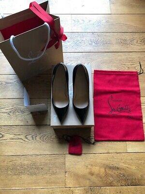 Christian LOUBOUTIN chaussures Pigalle black pointure 37 portées UNE fois!!