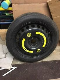 "19"" spacesaver replacement tyre - New"