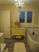 STANDARD BATHROOM RENOS IN 6 DAYS OR WILL PAY THE HST