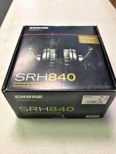 Shure SRH840 Professional Monitoring Headphones, Open Box