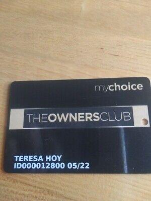 myCHOICE Plainridge Park Casino THE OWNERS CLUB Slot Card