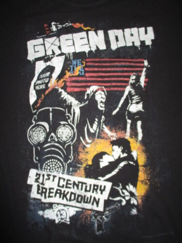 2010 GREEN DAY 21st Century Breakdown Concert Tour (LG) T-Shirt ARMSTRONG