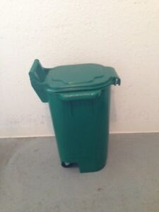 Green Wheeled Utility Container