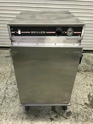 Insulated Half Height Heated Warmer Cabinet Nsf Bevles Work Top 8960 Commercial