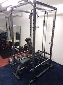 Home gym in nearly new condition!