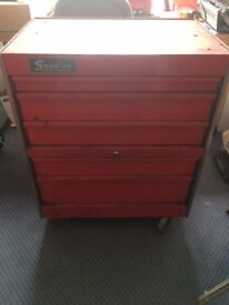 Snap-On 5 drawer Roll Cab Tool Chest with key