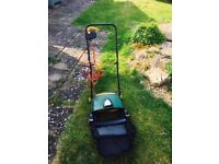 lawn scarifier suitable for small to medium lawns