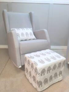 Brooklyn Rocker Set Rocking Chair Glider Nursery Made In Canada
