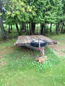6x10 utility trailer wooden deck