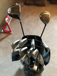Brand Name Golf Club Set (14 clubs total)