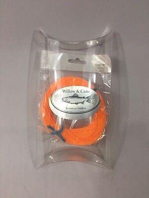 FLY Fishing Fly LINE #2- DT -2F - Orange - WCX ()