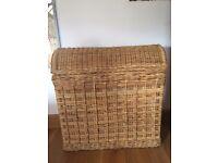 Large Wicker Laundry Basket