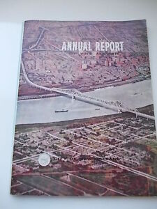 CITY-of-NEW-ORLEANS-LOUSIANA-state-1956-1957-ANNUAL-REPORT-Annuario-Originale