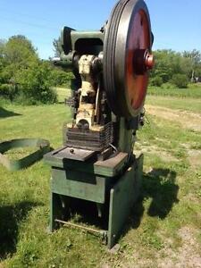44 ton Alceco obi punch press. m/c 550 volt