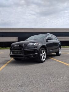 2015 AUDI Q7 Progressiv S-Line Package and Sky Package seats 7