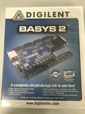 Xilinx Digilent Basys 2 Board - Spartan3e-100 Fpga Development Kit