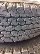 Nissan Navara tyre + rim set St Marys Mitcham Area Preview