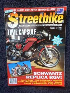 Streetbike, N12; Honda, Two-strokes, Ducati, Triumph, HD, Laverda