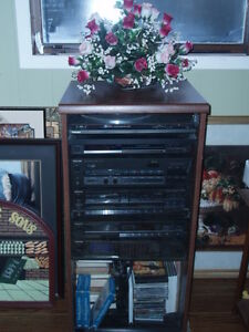 ~JUST REDUCED ~ Technics Home Audio Shelf System with Turntable~