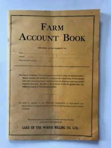 1946 Lake of the Woods Milling Farm Account Book
