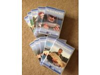 Great Rod Race x 5 and Record Breaking Fish x 5 DVD's
