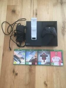 XBOX ONE CONSOLE 1TB WITH GAMES