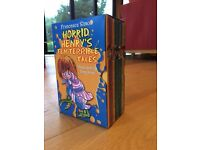 10 Horrid Henry Book Box Set for children in excellent condition