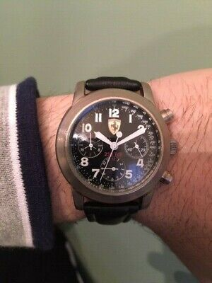 Men's Ferrari Watch, 43mm, Quartz
