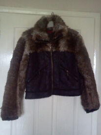 ***Fur and Suede Jacket***