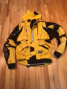 Motorcycle Teknic Yellow Black Padded Armour size 38/48