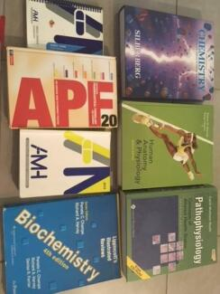 Assorted Medical and Pharmacy Textbooks