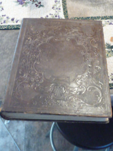 Large Antique Forrest Family Bible From 1879